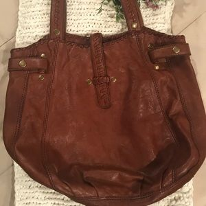 Lucky Brand Leather Hobo Purse